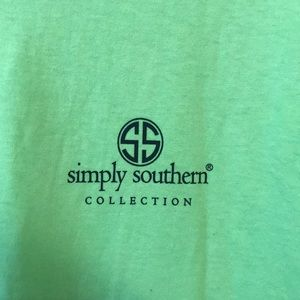 Simply Southern Tops - Simply Southern: south green shirt